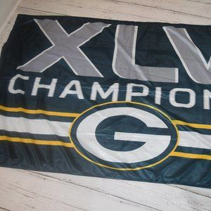 Other - Green Bay Packers Super Bowl XLV Champ Flag Banner